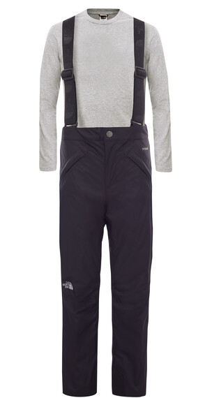 The North Face Girl's Snowquest Suspender Pant TNF Black